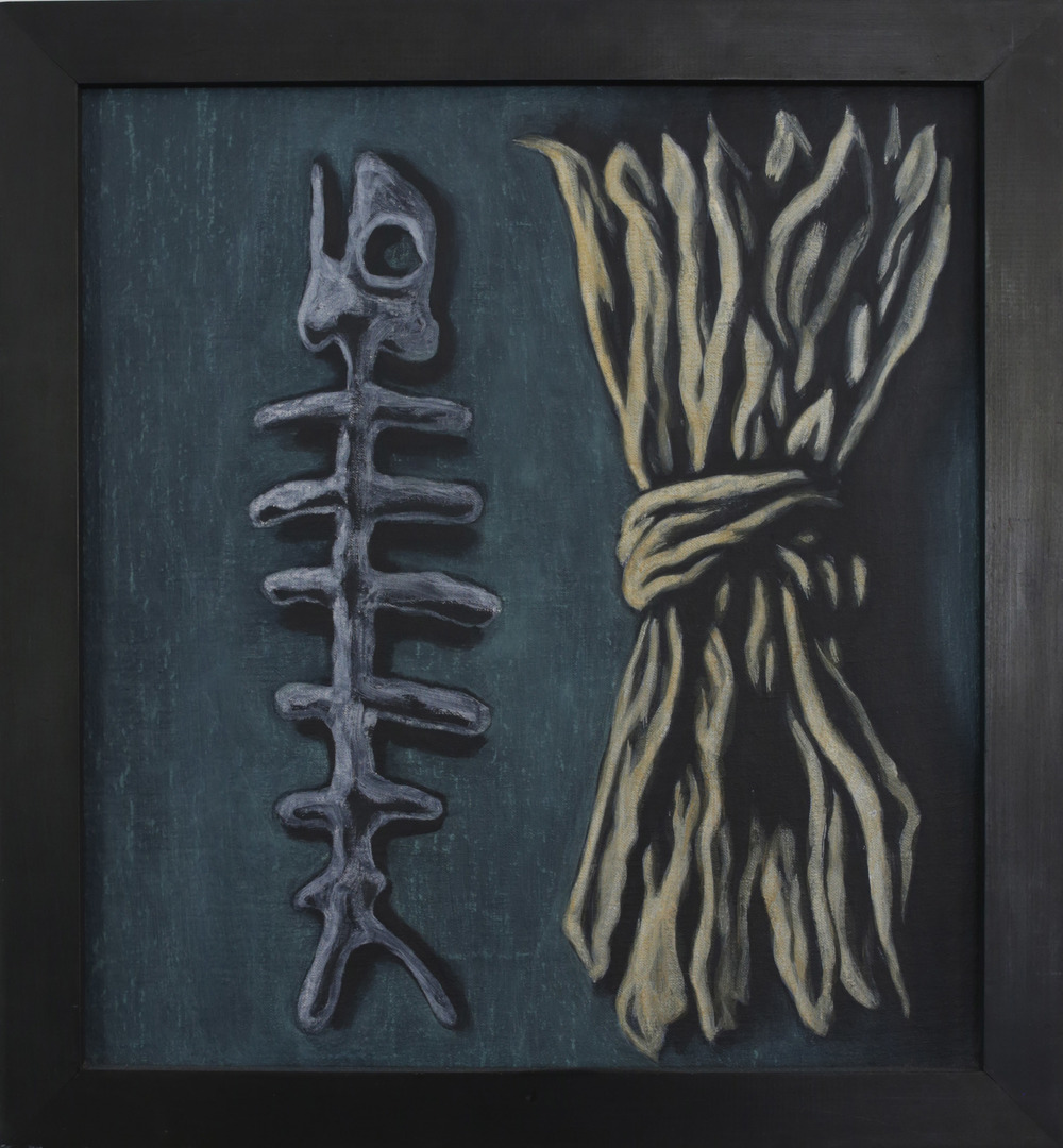 Bounty,  1991 Pigment, acrylic polymer, and gesso on linen-mounted panel