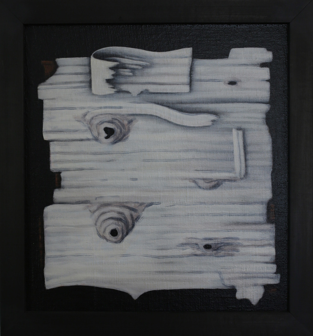 Birch,  1990 Pigment, acrylic polymer, and gesso on linen-mounted panel