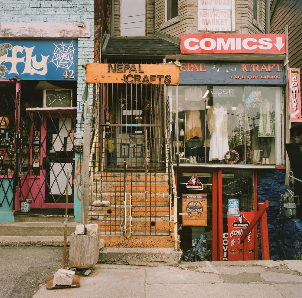 Kensington Street, Toronto, Ontario, Canada, 2015