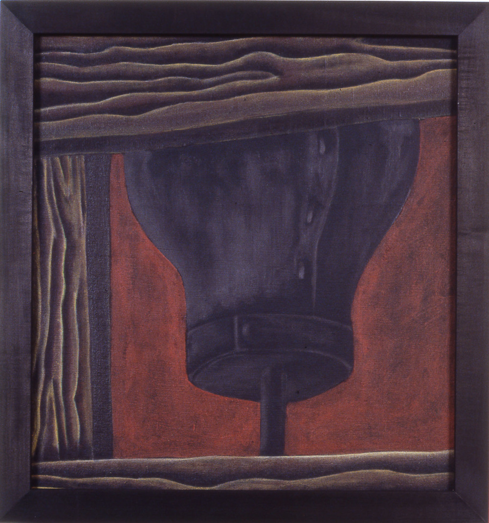 Bully,  1988 Pigment, acrylic polymer, and gesso on linen-mounted panel