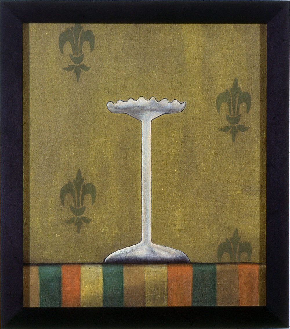 Heirloom,   1987 Pigment, acrylic polymer, and gesso on linen-mounted panel