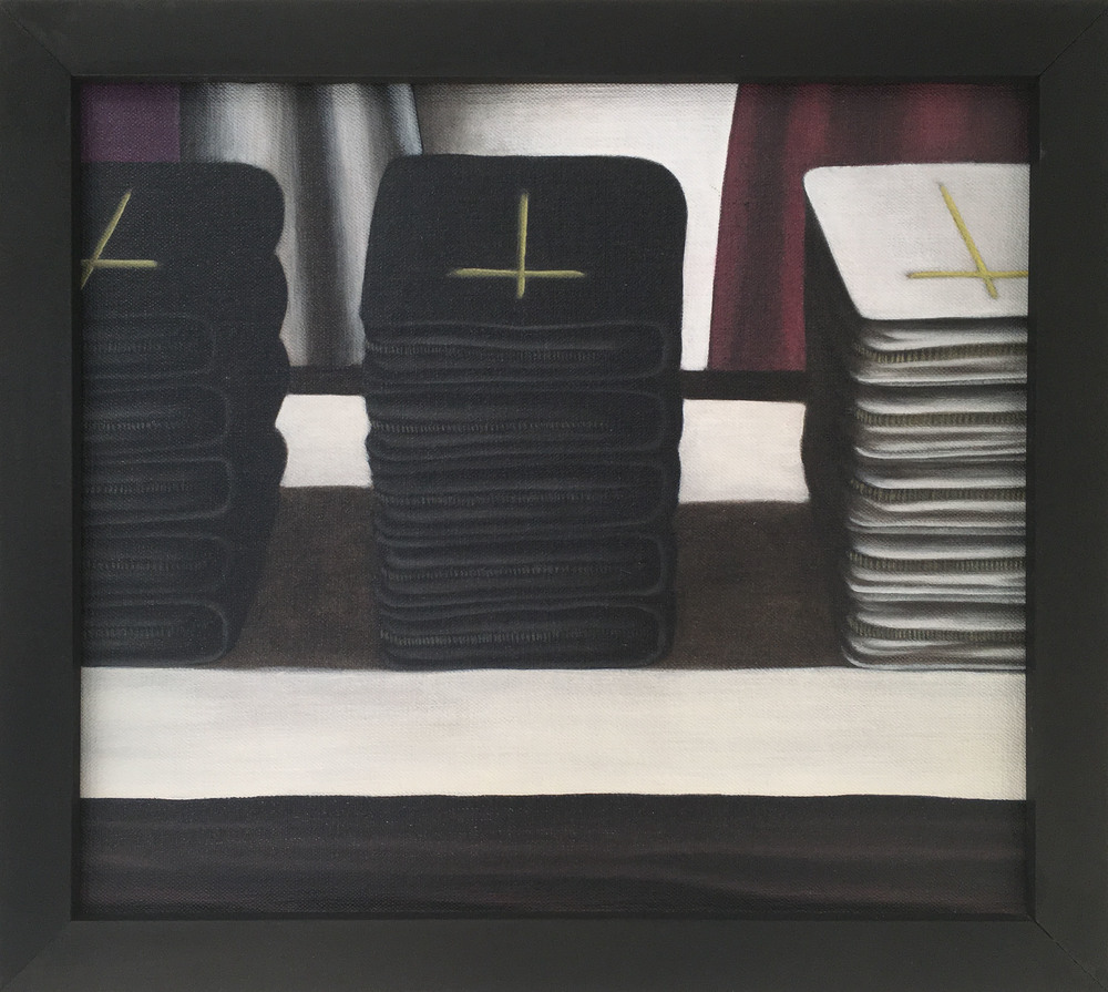 Missals,  1990 Pigment, acrylic polymer, and gesso on linen-mounted panel