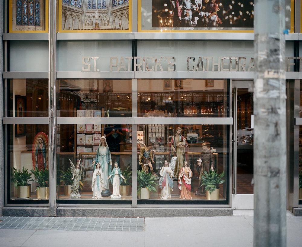 Saint Patrick's Cathedral Gift Shop, NYC, 2017