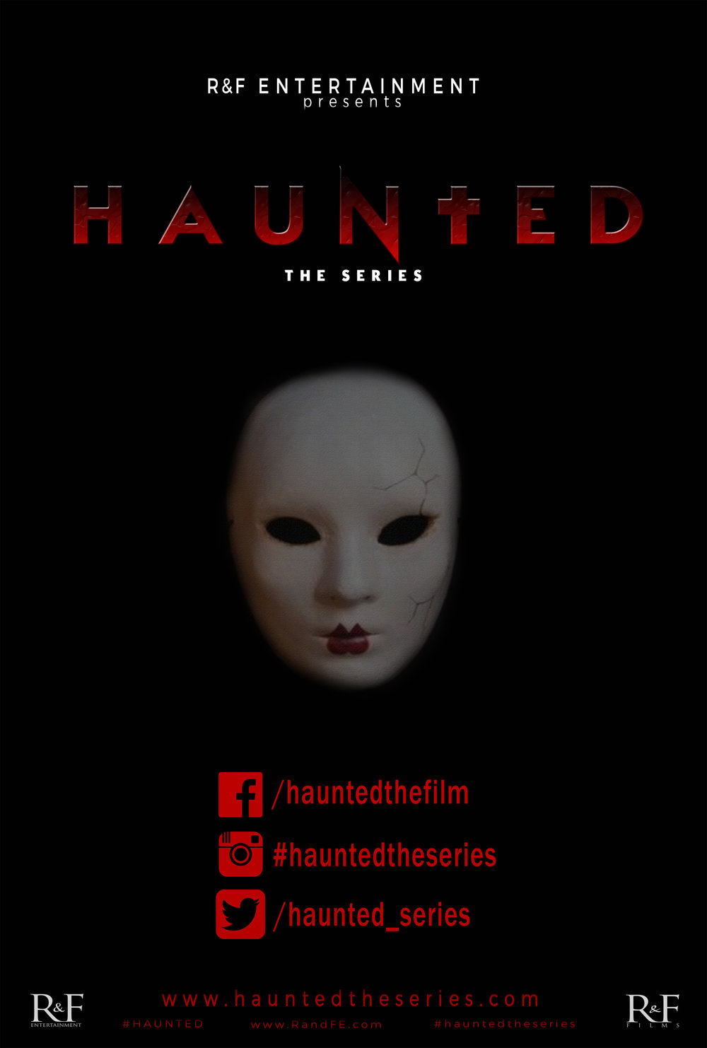 HAUNTED THE SERIES teaser poster