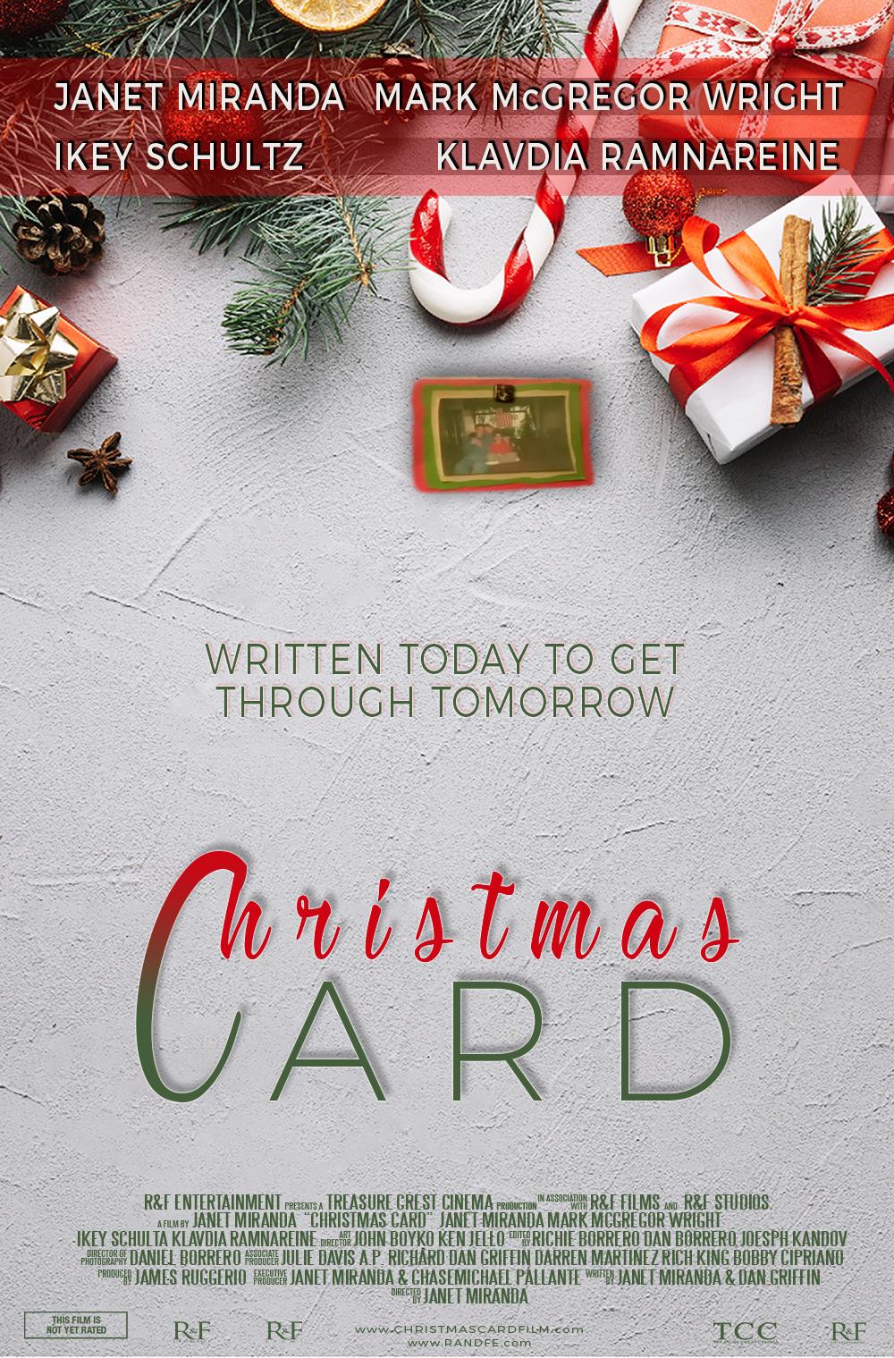 CHRISTMAS CARD MOVIE POSTER