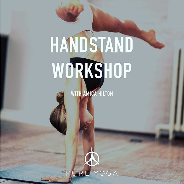 Looking forward to teaching one of my favourite things! Come learn handstands with me 🙌❤ Saturday, December 2nd 4-6pm @pureyogatoronto | $35 for members, $40 for non members. Follow the link in my bio to register 💓💓💓💓💓💓💓💓💓💓💓#handstands #press #liftup #yoga #pureyoga #pureyogatoronto #yogagirl #learntobalance #balance #yogatoronto #practicealliscoming #doyoga