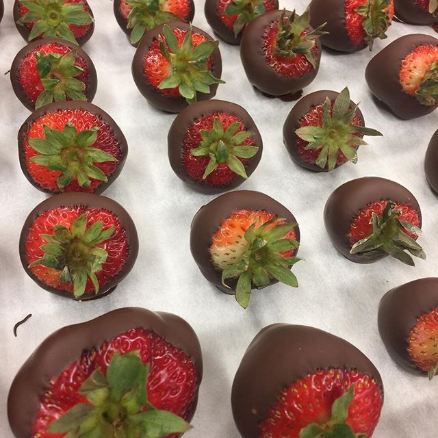 Serving these tonight for a catered affair. Check out Basil Creek on facebook! #bangorchamber #heybangor #strawberry #eatlocal #eatdessertfirst #downtownbangormaine