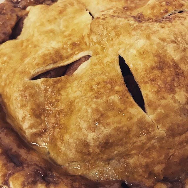 Got pie?  #eatlocal #shoplocal #ordernow #whoisbringingthepie