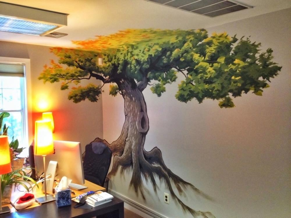KD Office Mural - Kipp T. Jarden
