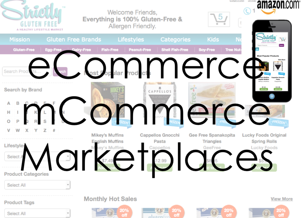 eCommerce and mCommerce