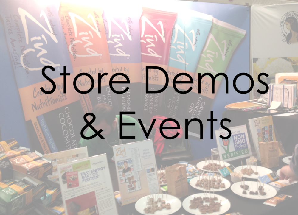 Store Demos and Events