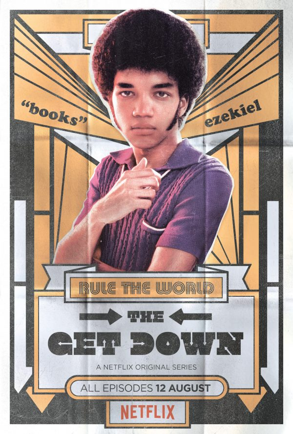 Justice Smith as Ezekiel in The Get Down on Netflix. [Poster]