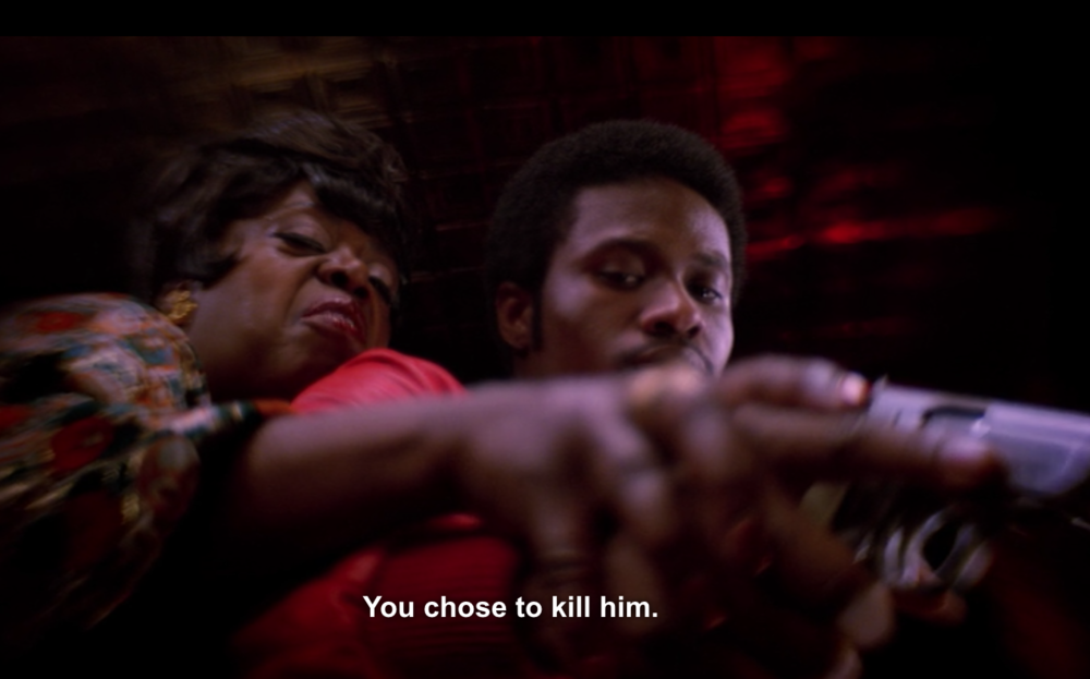 Shameik Moore as Shaolin Fantastic and Lillias White as Fat Annie in The Get Down on Netflix