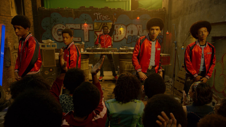 The Get Down on Netflix. Rap and dj battle