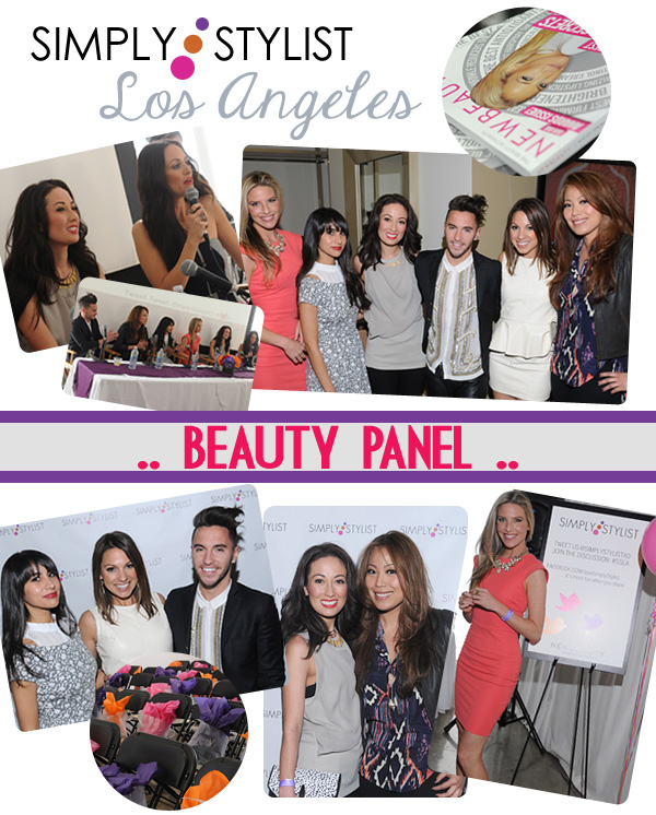 Simply Stylist LA Beauty Panel
