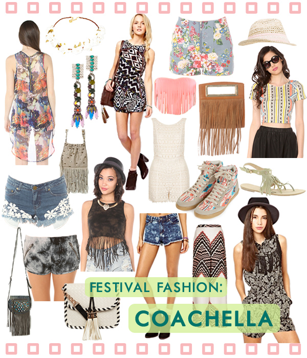 Festival Fashion - Coachella