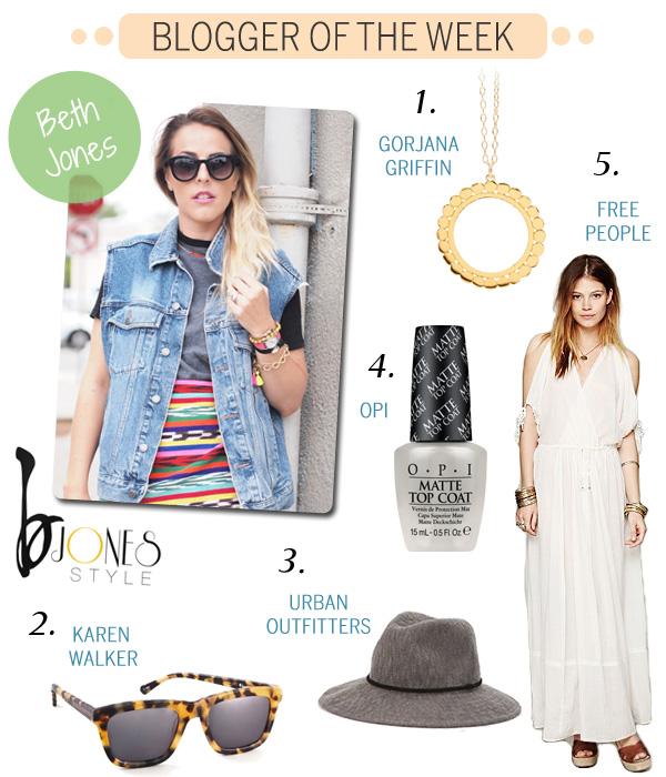 Blogger of the Week - Beth Jones - B Jones Style