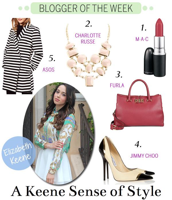 Blogger of the Week - Elizabeth Keene - A Keene Sense of Style