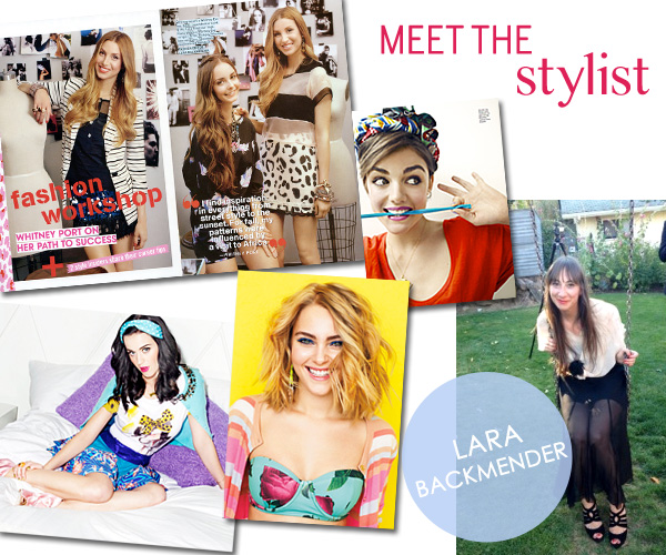 Meet the Stylist - Lara Backmender