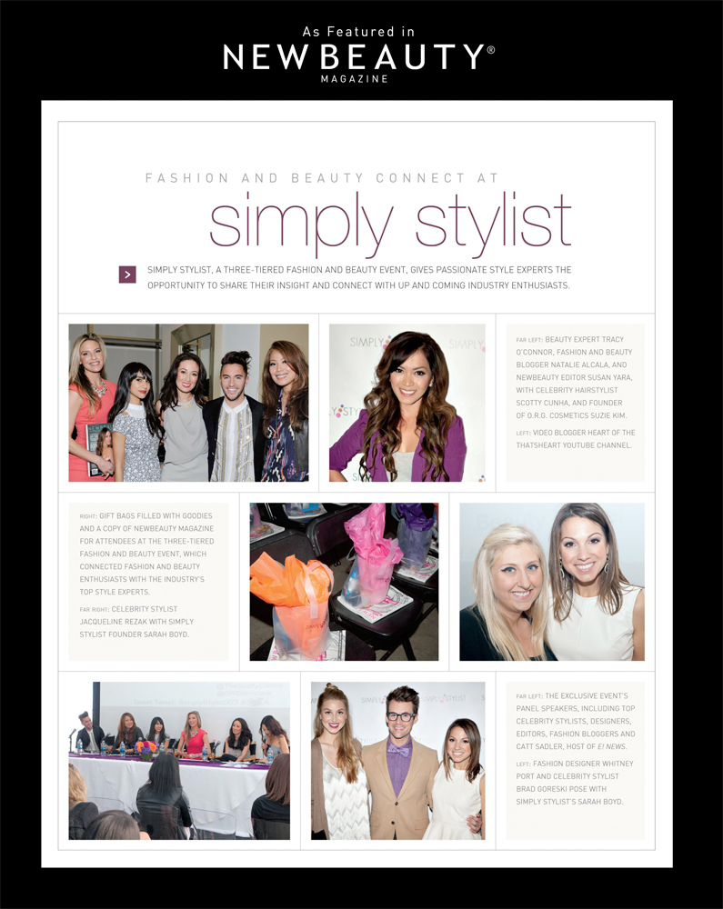 New Beauty x Simply Stylist Feature