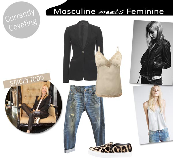 Currently Coveting - Masculine meets Femenine - Stacey Todd