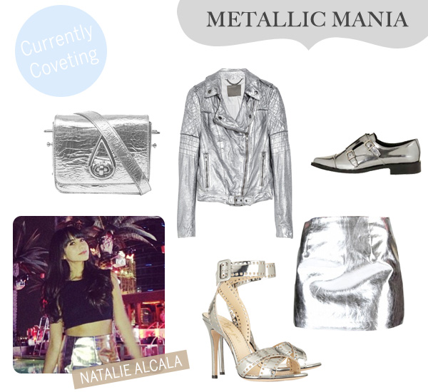 Currently Coveting - Metallic Mania - Natalie Alcala