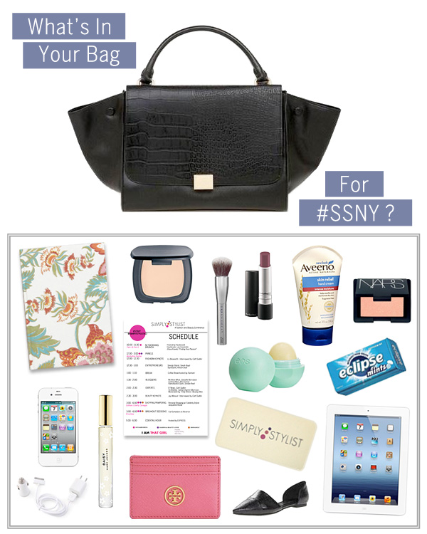 What's in Your Bag for SSNY