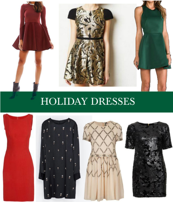 Holiday dresses