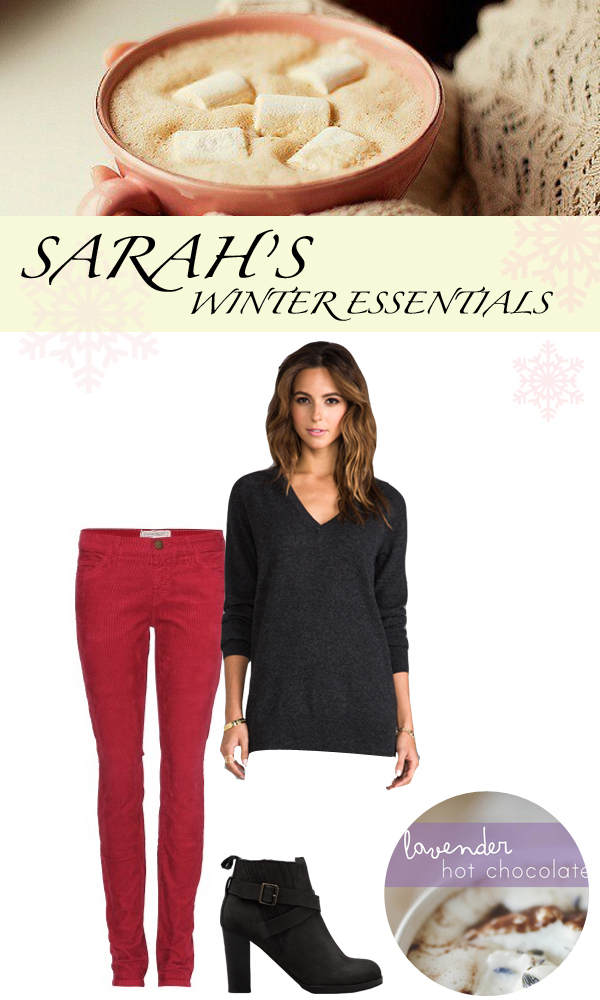 Sarah's Winter Essentials