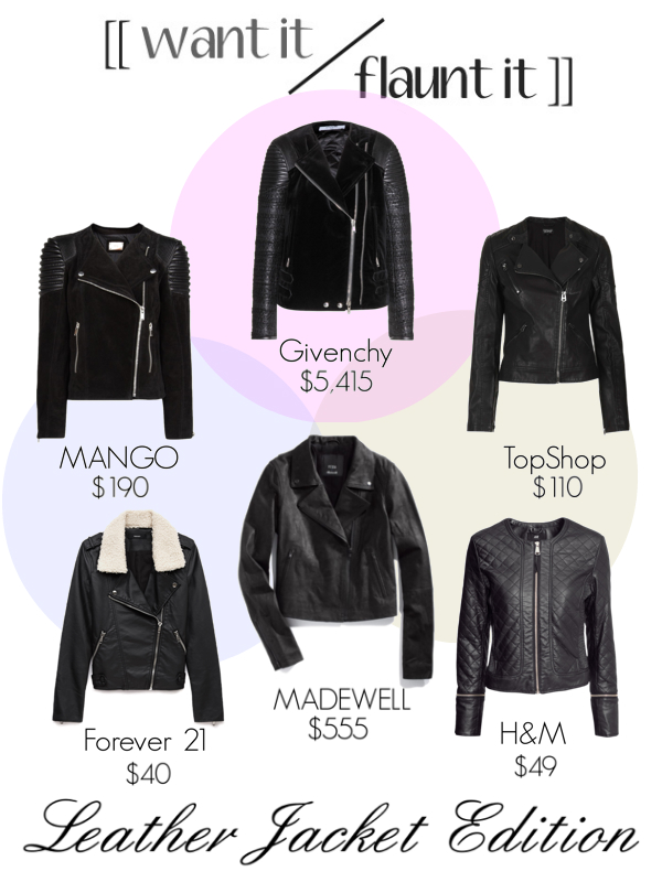 Want Flaunt- Leather