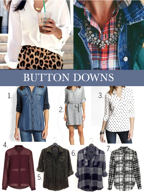 button downs