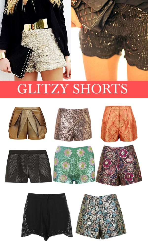 Glitzy Shorts