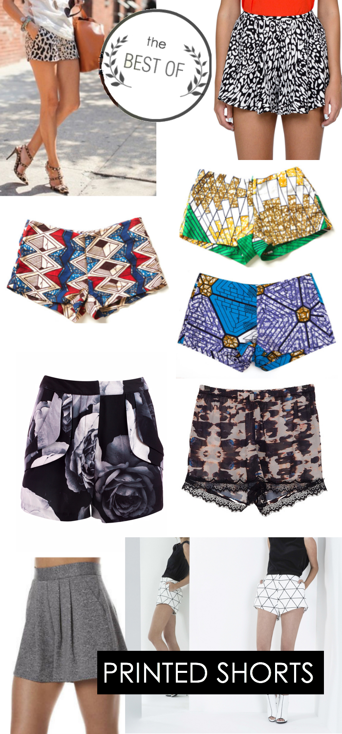 Best Of- PRINTED SHORTS