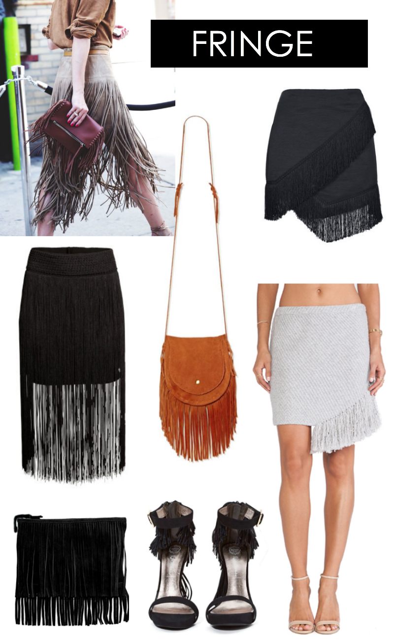Fringe, trend, fall, fashion