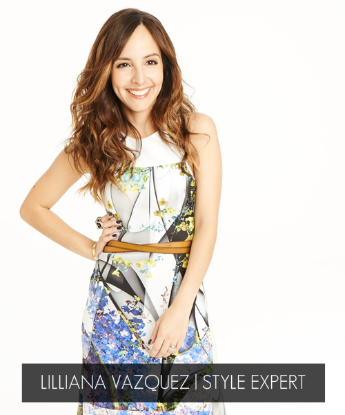 Lilliana Vazquez, Host, Style Expert