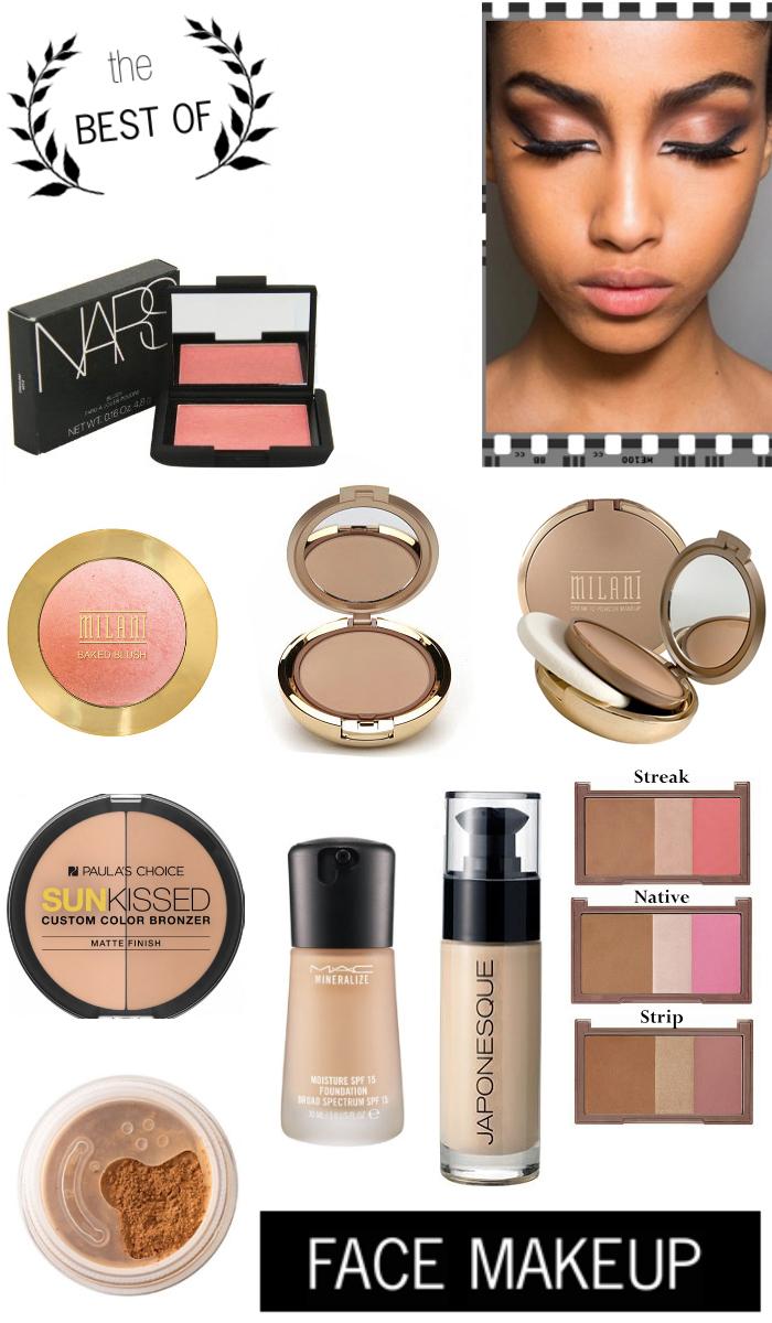 face, makeup, trend