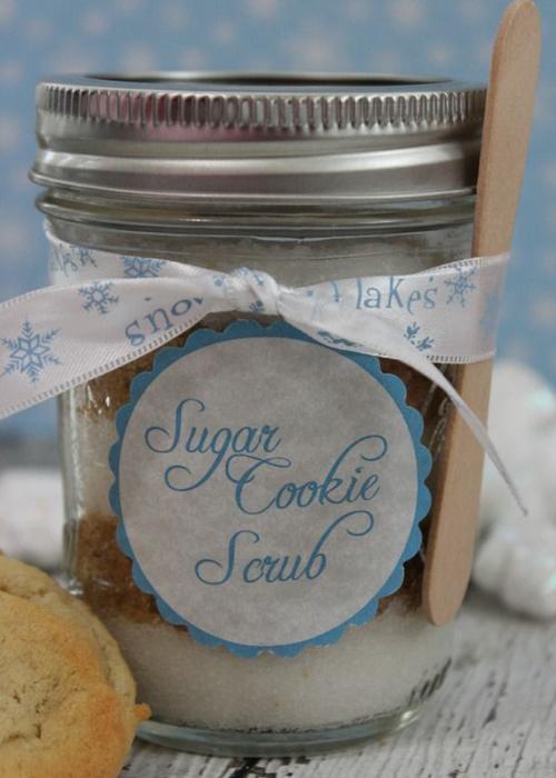 sugar cookie, scrub, recipe