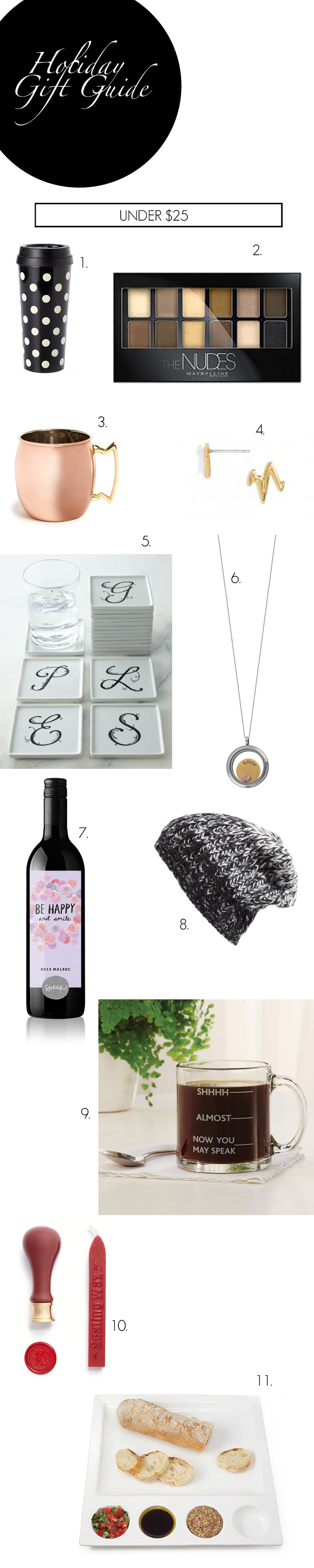 under 25, gift, ideas, holiday
