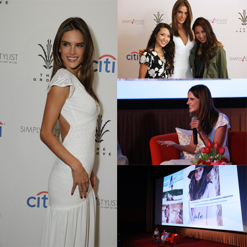 Alessandra Ambrosio_panel_speaking