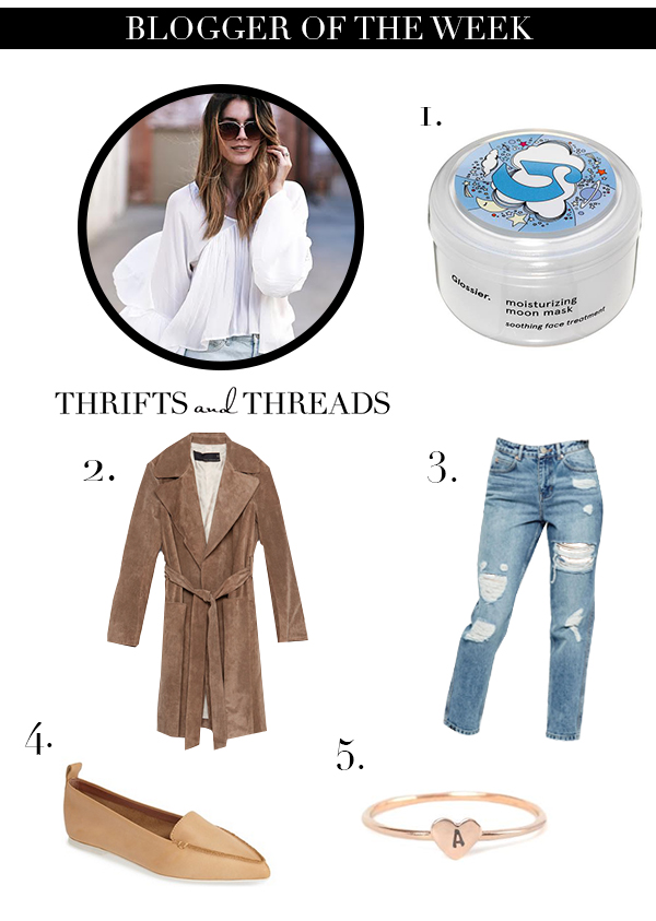 Thrifts and Threads blogger of the week