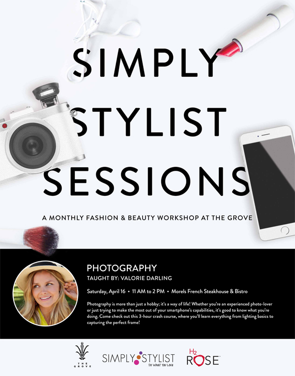 Simply Stylist Session - Photography