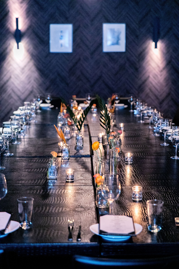 CHICAGO, IL - JULY 16: A general view of atmosphere at the Simply Stylist Chicago VIP Dinner at STK Chicago on July 16, 2016 in Chicago, Illinois. (Photo by Jeff Schear/Getty Images for Simply Inc)