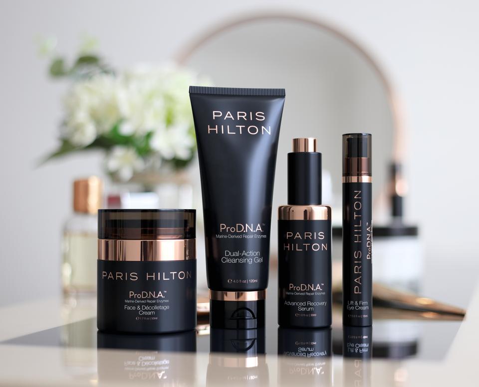 Paris Hilton Skincare with ProD.N.A.
