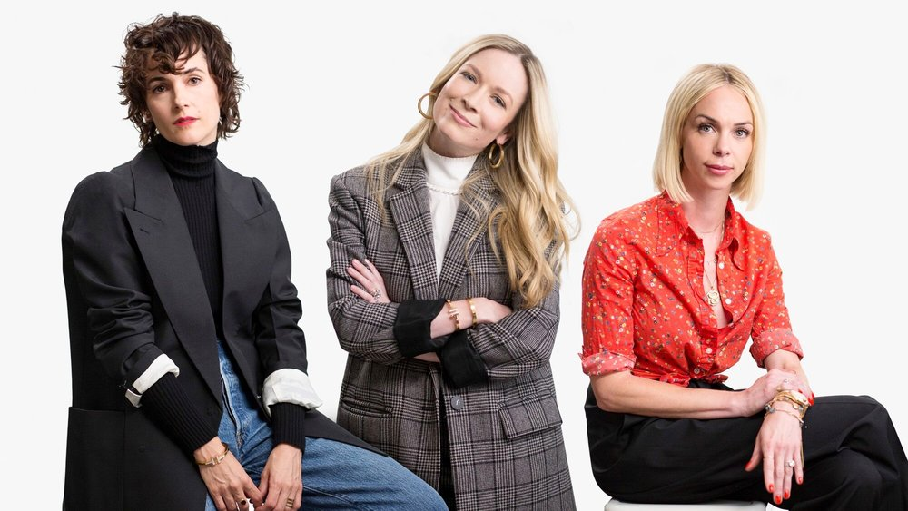 FROM LEFT: Karla Welch, Erin Walsh, and Simone Harouche  (Image courtesy of Cole Haan)