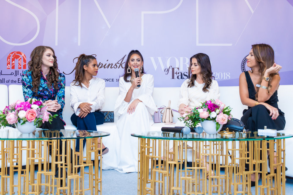 INFLUENCER PANEL  featuring Kelsey Johnson, Nadya Hasan, Tamara Al Gabbani, Nina Ali and Sai Ferrera