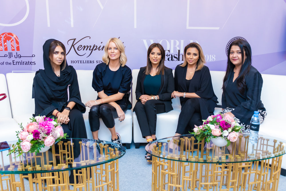 ENTREPRENEUR PANEL  featuring Sarah Al Maddani, Caroline Stanbury, Sally Soheili, and Alia Fawad