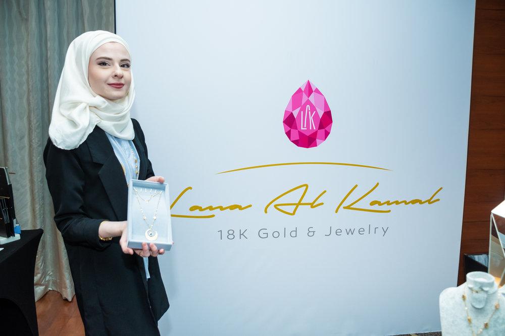 Jewelry designer Lana Al Kamal