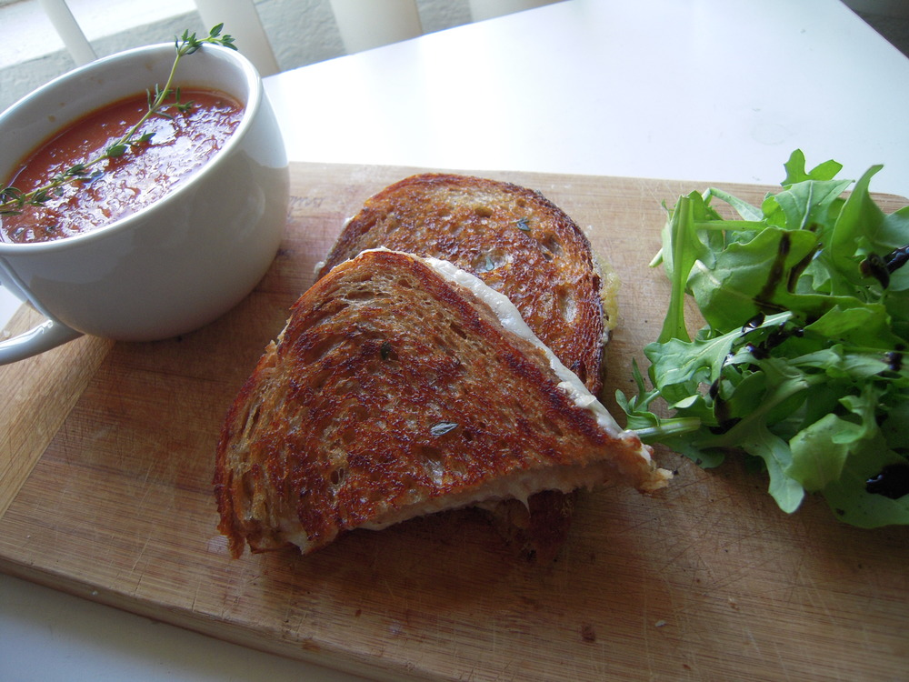 Grilled Cheese + Tomato Soup