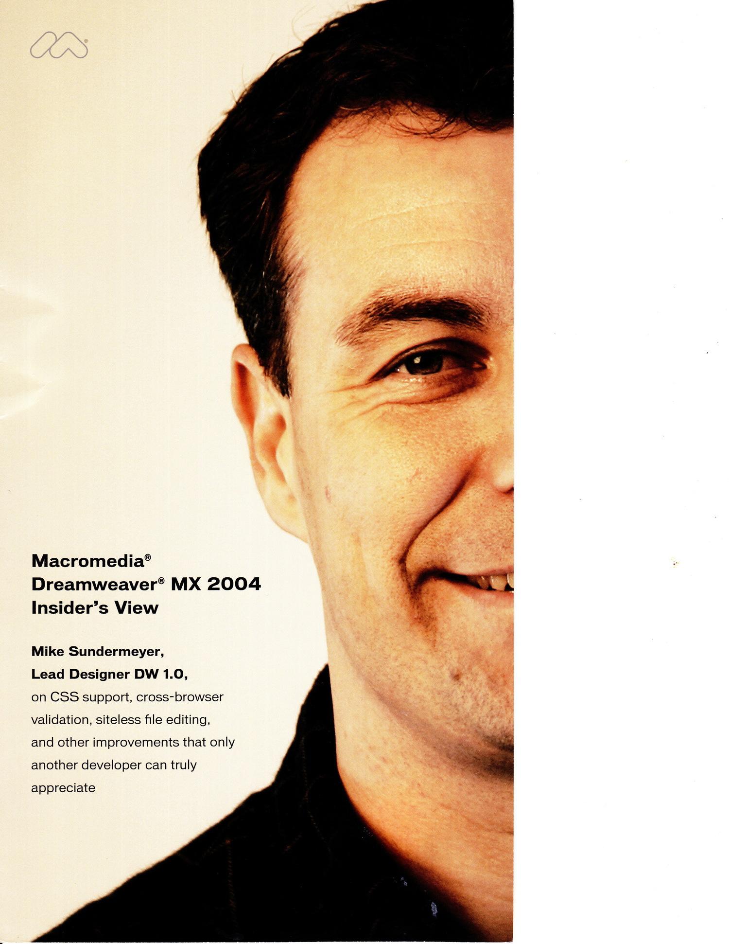 Macromedia Dreamweaver V1-V4 — sundy