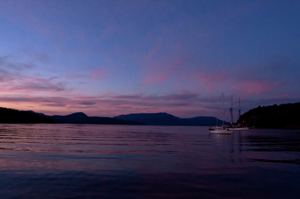 San Juan Islands: Sailing Washington